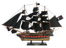 Handcrafted Model Ships QA-26-Black-Sails Wooden Blackbeard'S Queen Anne'S Revenge Black Sails Limited Model Pirate Ship 26&Quot;