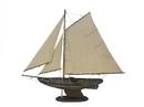Handcrafted Model Ships R-Newport-Sloop-30 Rustic Newport Sloop 30