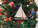 Handcrafted Model Ships Sailboat9-101-XMAS American Sailboat Christmas Tree Ornament 9