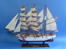 Handcrafted United States Coast Guard USCG Eagle Tall Model Ship 24