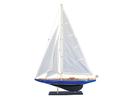 Handcrafted Model Ships VEL-R-35 Wooden Velsheda Model Sailboat Decoration 35