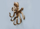 Handcrafted Model Ships WH-0117-AN Antique Brass Octopus With Tentacle Hooks 11
