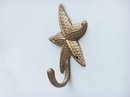 Handcrafted Model Ships WH-0119-AN Antique Brass Starfish Hook 5&Quot;
