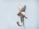 Handcrafted Model Ships WH-0119-CH Chrome Starfish Hook 5&Quot;