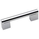 Harney Hardware 36292 Cabinet Handle Pull, Round, 3 In. Center To Center, Chrome