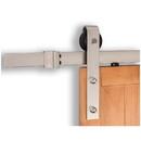 Harney Hardware 36311 Barn Door Hardware, Standard Kit, Satin Nickel