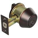 Harney Hardware 86532 Commercial Deadbolt, Single Cylinder
