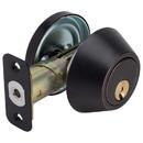 Harney Hardware 86608 Atlas Light Duty Commercial Deadbolt, Single Cylinder, UL Fire Rated, ANSI 2, Venetian Bronze
