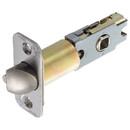 Harney Hardware 87370 Residential UL Keyed / Entry Latch, Adj. 2 3/8 In. To 2 3/4 In.