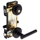Harney Hardware 87433 Riley Interconnected Lock, Reversible Passage Lever, UL Fire Rated, ANSI 2