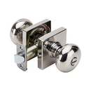 Harney Hardware 87817 Kendall Bed / Bath / Privacy Door Knob Set, Chrome