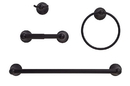 Harney Hardware ALEX11P Alexandria Venetian Bronze Bathroom Hardware Set