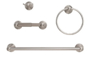 Harney Hardware ALEX15 Alexandria Satin Nickel Bathroom Hardware Set