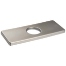 Harney Hardware BFDPS15 Bathroom Faucet Installation Deckplate, Square Ends, Stainless Steel, 6 1/8 In. Wide