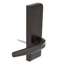 Harney Hardware ESCN95PSB Narrow Stile / Cross Bar Exit Device Passage / Hallway Function Lever Trim