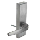 Harney Hardware ESCN95PS Narrow Stile / Cross Bar Exit Device Passage / Hallway Function Lever Trim