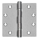 Harney Hardware HHFBB179NRP26D Commercial Door Hinges, Ball Bearing, NRP, 4 1/2 In. X 4 1/2 In., 3 Pack