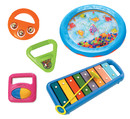 KHS America MS4001 Toddler Music Band, set of 6 instruments