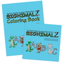 Signimalz Sign Language Alphabet and Coloring Book Set