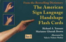 The American Sign Language Handshape Flashcards Set I