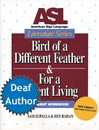 ASL Literature Series: Bird of a Different Feather Book & DVD (Student Set)