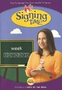 Signing Time Series 2 Vol 6: Days of the Week DVD