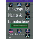 Fingerspelled Names & Introductions