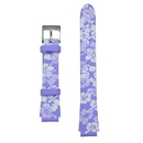 Global VibraLITE MINI Purple Flower Replacement Watch Band