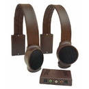 Audio Fox Brown TV Listening Speaker System