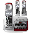 Panasonic KX-TGM450S Amplified Phone with (2) extra handsets
