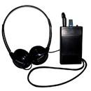 Oval Window Induction Loop Receiver with Headphones