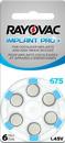 Rayovac Cochlear Mercury Free Batteries 60/Box