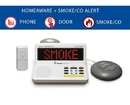 The HomeAware Starter Kit + (with built-in Smoke/CO listener, Doorbell, and Bed Shaker)