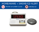 The HomeAware Fire and CO Signaler  (with built-in Smoke/CO listener, Phone and Bed Shaker)