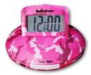 Sonic Alert Sonic Shaker SBP100 Pink Camouflage Vibrating Travel Alarm Clock