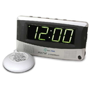 Sonic Alert Sonic Boom SBR350ss Vibrating Radio Alarm Clock