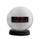 The Sonic Glow Nightlight Alarm Clock with Recordable Alarm