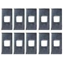 "Draw-Tite 5121-010 Trailer Hitch Spacer Block, 1/4"" x 1"" x 2"", Qty. 10"