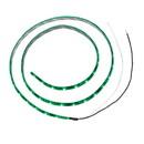 "Wesbar 54205-013 LED Light Strip Green - 36"" w/54 Diodes Per Strip"