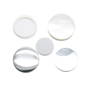 TOPTIE 100 Packs Badge Button Mirror Materials, Round Mini Mirrors