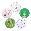 TeeVoo 50PCS Custom Pocket Hand Cosmetic Mirror, Personalized Makeup Mirrors