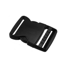 Muka 100PCS Black Plastic Side Quick Release Buckle for Bracelets (2