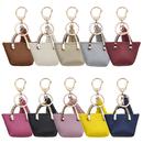 Muka 10 Pack Mini Handbag Key Chains Womens Purse Charm Gift Assorted