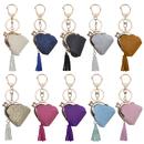 Aspire 10 Pack Cute Purse Key Chains For Handbag Car Key, Multi Colors