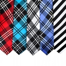 TopTie Wholesale Lot Mens 5 Skinny Neck Tie New Necktie, Plaid Neckties