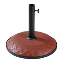 International Caravan Compound Resin Basket Weave Umbrella Stand