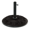 International Caravan 23900-15 Outdoor Resin Roman Numerical Umbrella Stand