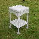 International Caravan Small PVC Resin Side Table