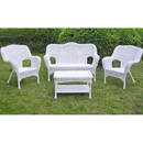 International Caravan Four Piece Maui Outdoor Seating Group