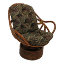 International Caravan Tapestry Cushion Rocker